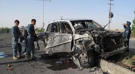Đánh bom giữ thủ đô Afghanistan, 112 người bị thương - ảnh 1