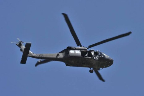 Trực thăng quân sự Mỹ rơi xuống biển Nhật Bản - ảnh 1