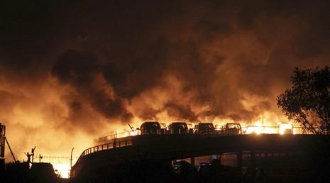 Lính cứu hỏa Trung Quốc kinh hoàng kể lại 'hỏa ngục' Thiên Tân - ảnh 2