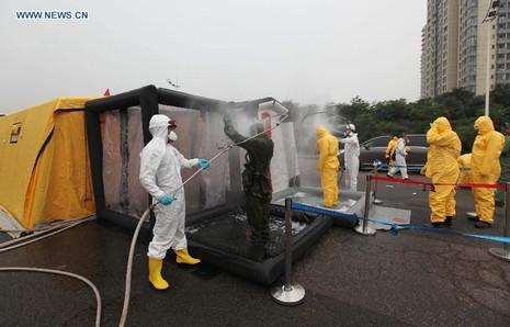 Xác định hơn 40 hóa chất phát tán trong 'hỏa ngục' Thiên Tân - ảnh 1
