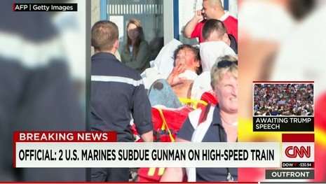 Khủng bố tàu cao tốc Bỉ, 'không may' gặp lính Mỹ - ảnh 2