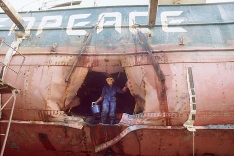 Điệp viên đánh chìm tàu Hòa bình Xanh xin lỗi sau 30 năm - ảnh 2