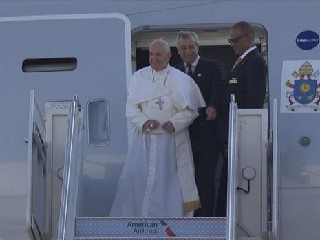 Thành phố New York đón Giáo hoàng như đón tiếp Tổng thống - ảnh 1