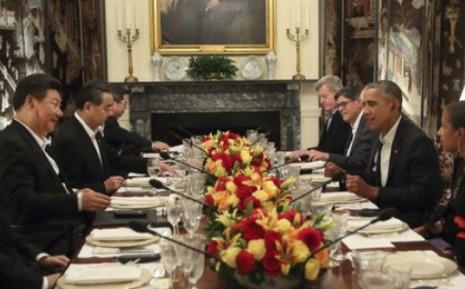 Lãnh đạo Mỹ - Trung dùng bữa tối bàn 'chuyện khó nói' - ảnh 1