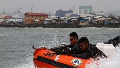 Philippines phát hiện tàu nghi chứa con tin của phiến quân - ảnh 1