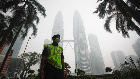 Khí thải cháy rừng Indonesia có thể 'làm 110.000 người chết' - ảnh 1