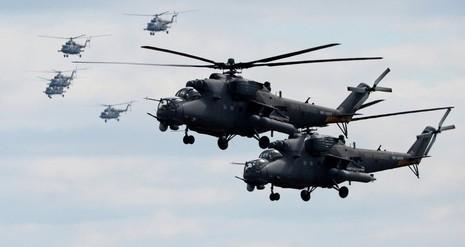 Trực thăng tấn công Mi-35 sắp đến Afghanistan - ảnh 1