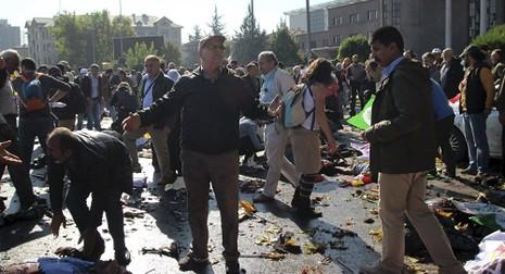 Nổ kép tại Thổ Nhĩ Kỳ, hơn 30 người thiệt mạng - ảnh 1
