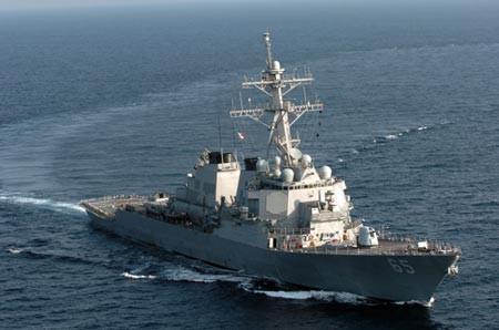 Tàu khu trục hiện đại nhất của Mỹ đến Nhật Bản - ảnh 1