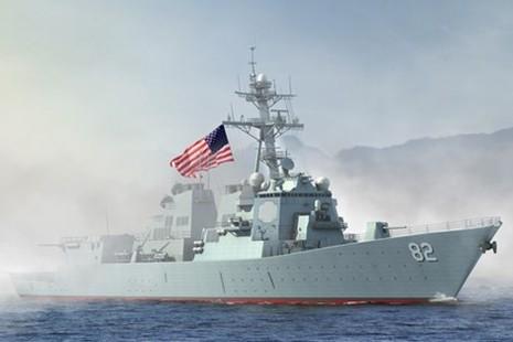 Tàu chiến Mỹ hoàn thành áp sát đảo nhân tạo 'bình an vô sự' - ảnh 1