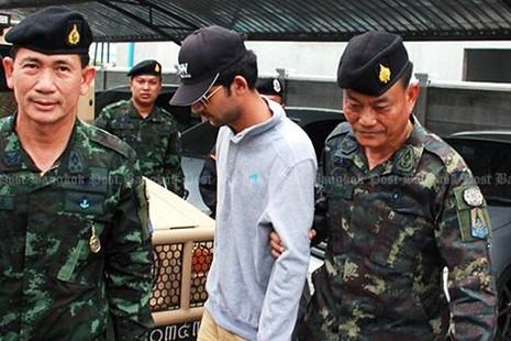 Tòa án quân sự Thái Lan luận tội hai bị can đánh bom Bangkok - ảnh 2