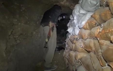 IS bí mật xây đường hầm dưới lòng thành phố bắc Iraq - ảnh 1