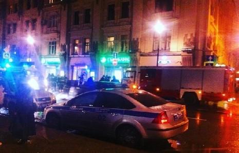 Nổ ở trung tâm Moscow, ba người bị thương - ảnh 1