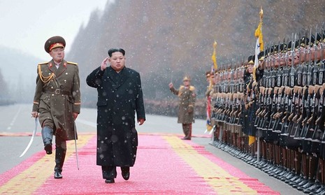 Ông Kim Jong-un ra lệnh chế tạo vũ khí tối tân hơn nữa - ảnh 1