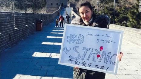 Cư dân mạng Trung Quốc thực hiện di nguyện của em bé Mỹ - ảnh 2