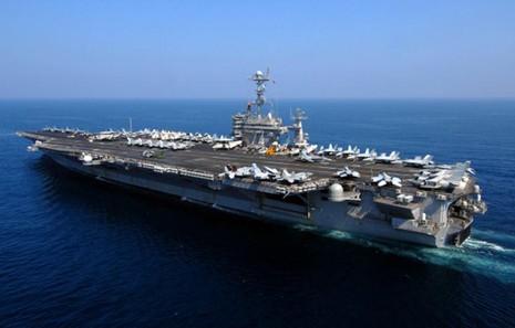 Mỹ điều siêu tàu sân bay thứ hai tới châu Á - ảnh 1