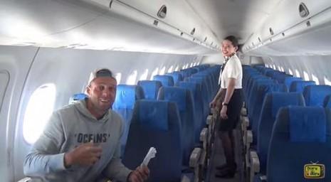 Chỉ có một hành khách, máy bay Philippines vẫn đồng ý bay - ảnh 2