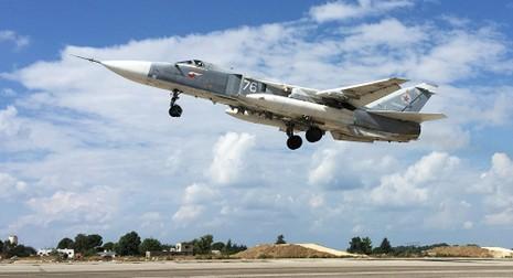 Phi đội Nga đầu tiên rời khỏi Syria - ảnh 1