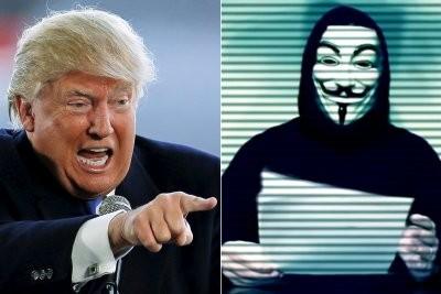 Tổ chức tin tặc Anonymous 'tuyên chiến' với Donald Trump - ảnh 1