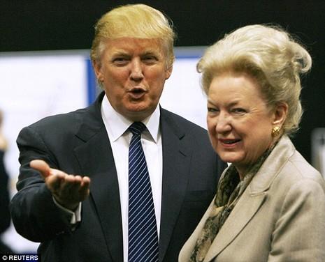 Chị gái ứng viên tổng thống Mỹ Donald Trump bị gửi thư đe dọa - ảnh 1