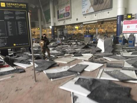 Bỉ xác nhận thủ đô bị tấn công là do khủng bố - ảnh 1