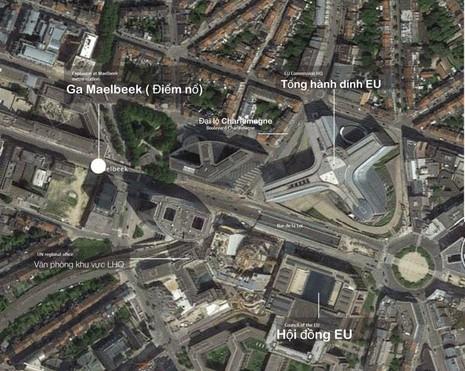 Vụ khủng bố tại Bỉ: Nghi phạm bị bắt không phải đối tượng truy nã - ảnh 1