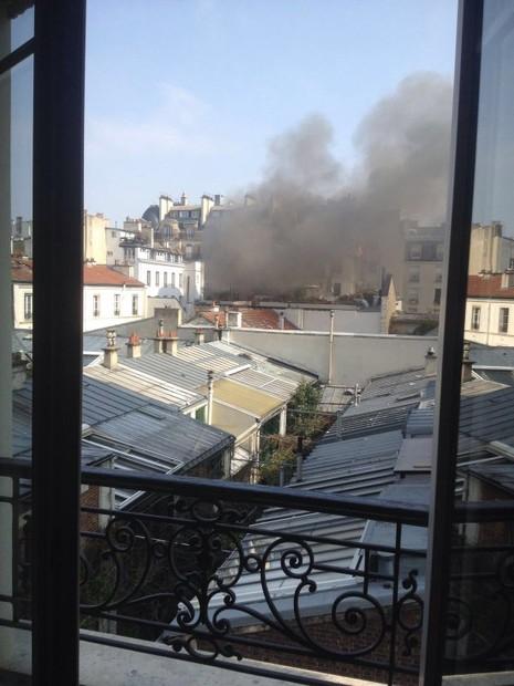 Nổ gas dữ dội tại Paris: 17 người bị thương - ảnh 2