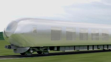 Nhật sắp ra mắt tàu hỏa 'tàng hình' - ảnh 1