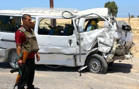 Đánh bom ở Ai Cập, 5 binh sĩ thiệt mạng - ảnh 1