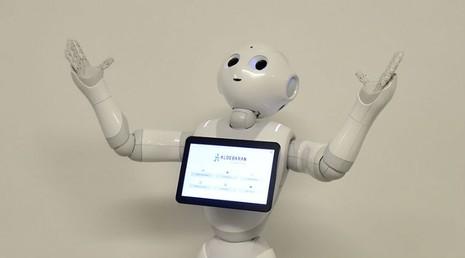 Lần đầu tiên robot nhập học với con người - ảnh 1