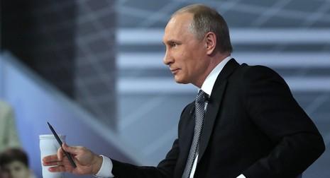 Ông Putin kiếm được nhiều tiền hơn trong năm 2015 - ảnh 1