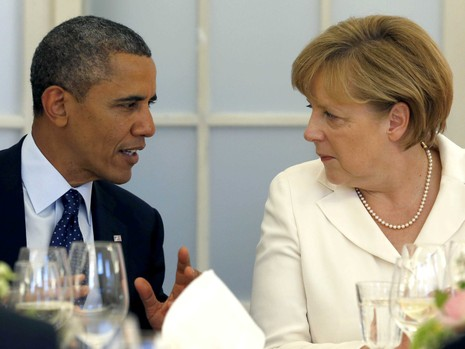Mối thâm tình hiếm có giữa tổng thống Mỹ và thủ tướng Đức  - ảnh 3