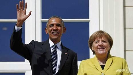 Mối thâm tình hiếm có giữa tổng thống Mỹ và thủ tướng Đức  - ảnh 1