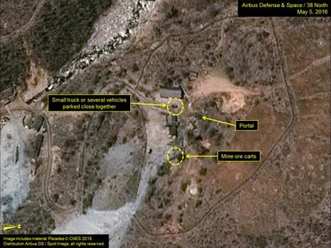 Có dấu hiệu Triều Tiên đang chuẩn bị thử hạt nhân lần thứ năm - ảnh 1