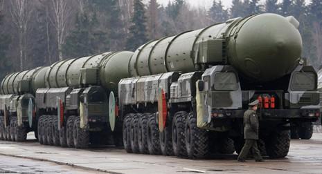 13.000 quân lực lượng tên lửa Nga diễu binh toàn quốc - ảnh 1