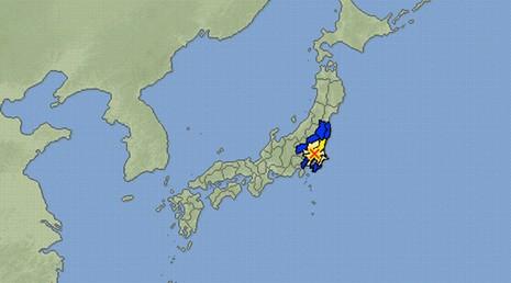 Động đất làm rung chuyển thủ đô Tokyo, Nhật Bản - ảnh 1
