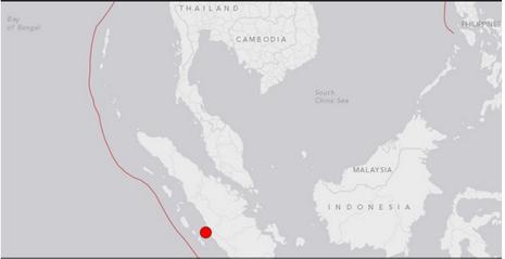 Động đất 6,5 độ Richter rung chuyển đảo  Sumatra Indonesia - ảnh 1