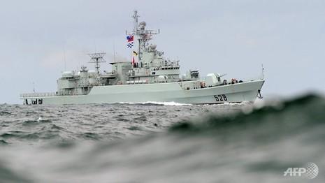 Tàu chiến Trung Quốc tham gia diễn tập Vành đai Thái Bình Dương - ảnh 1