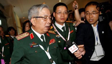 Tướng Nguyễn Chí Vịnh nói về biển Đông ở Đối thoại Shangri-La 2016 - ảnh 1
