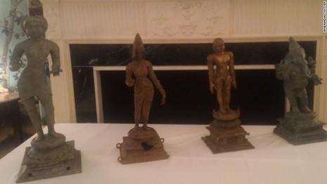 Mỹ trả lại cổ vật trị giá 100 triệu USD cho Ấn Độ - ảnh 1