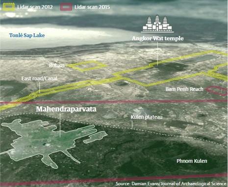 Sắp hé lộ thành phố huyền bí bị chôn vùi tại Campuchia - ảnh 3