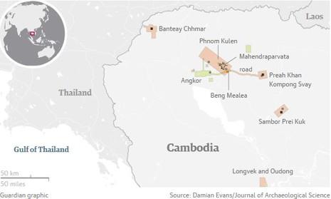 Sắp hé lộ thành phố huyền bí bị chôn vùi tại Campuchia - ảnh 2