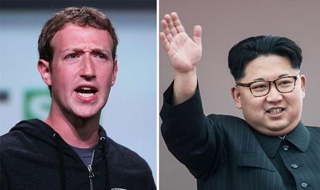 Mark Zuckerberg được cho là quản lý Facebook như  Triều Tiên.