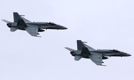 Máy bay chiến đấu của Canada