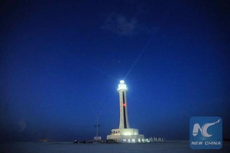 Trung Quốc tuyên bố hoàn thành 5 ngọn hải đăng trên biển Đông - ảnh 1
