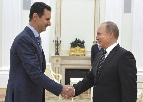 Tổng thống Syria Bashar al-Assad cho biết ông Putin chưa bao giờ đề cập đến vấn đề ông Assad nên từ bỏ quyền lực.