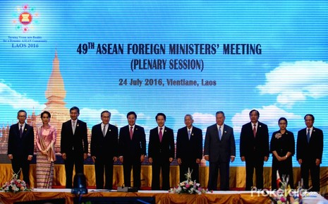 Hội nghị Bộ trưởng ASEAN bế tắc vì phán quyết Biển Đông - ảnh 1
