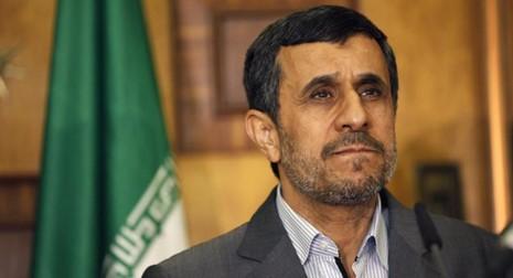 Cựu Tổng thống Iran Mahmoud Ahmadinejad. Ảnh: AP