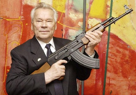 Nhà thiết kế súng AK-47 ông Mikhail Kalashnikov