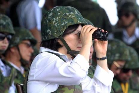 Lãnh đạo Đài Loan chủ trì tập trận chống Trung Quốc tấn công
